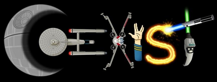 starWars_starTrek_coexist Star Wars é ficção científica - Parte IV - Conclusão
