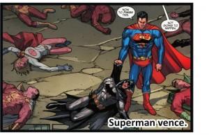 BatmanVsSuperman13-SupermanVence-300x195 Batman vs Superman Parte VI – Exemplos de lutas contra um Homem-de-Aço verossímil