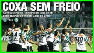 PalmeirasCoritiba-300x169 Palmeiras Século XXI: uma humilhação por ano desde 2000