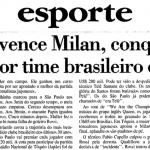 São Paulo FC: dentre os grandes, já fostes o primeiro