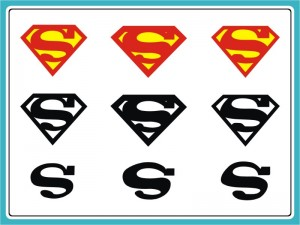 SimbSupermanLogo-300x225 O símbolo do Superman e o erro corrigido em Man of Steel