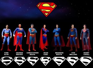 SupermanAtores-300x221 O símbolo do Superman e o erro corrigido em Man of Steel