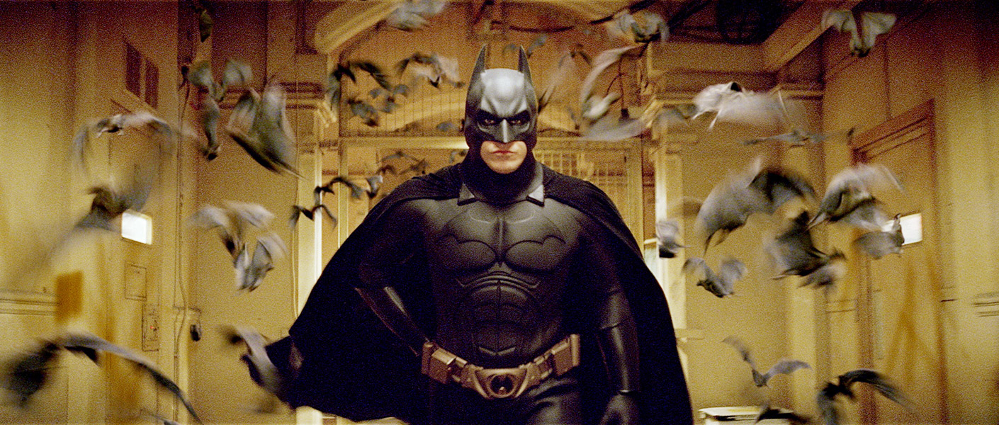 Batman-begins Batman e Superman nos Cinemas