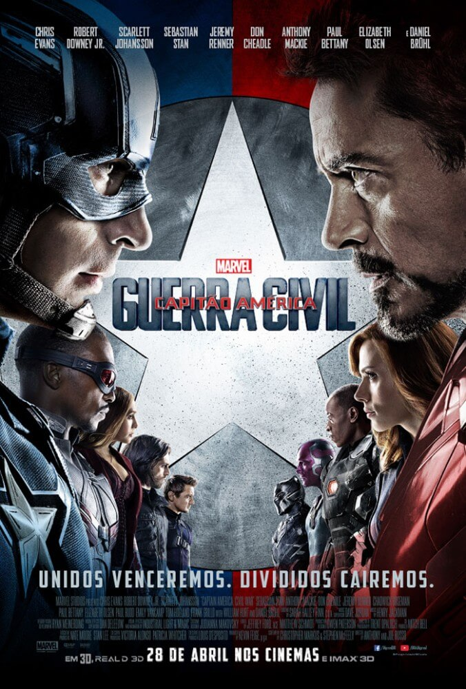 captain-american-civil-war_cartaz Crítica: Capitão América - Guerra Civil (Captain America - Civil War)