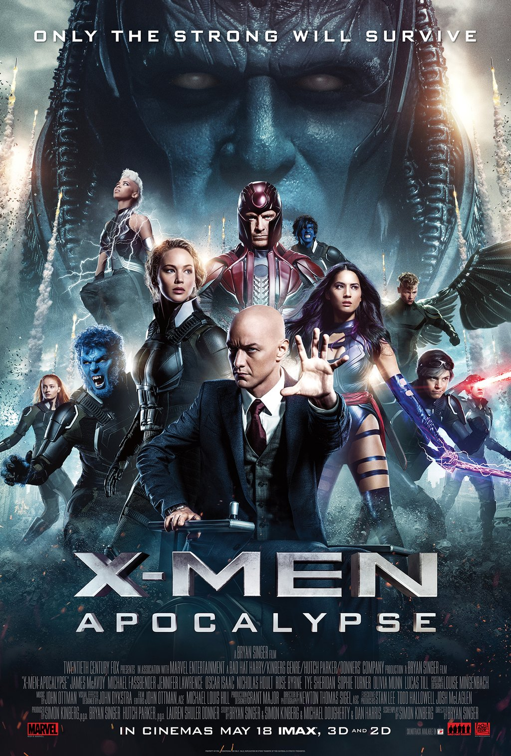 x-men-apocalypse_cartaz Crítica: X-Men - Apocalipse