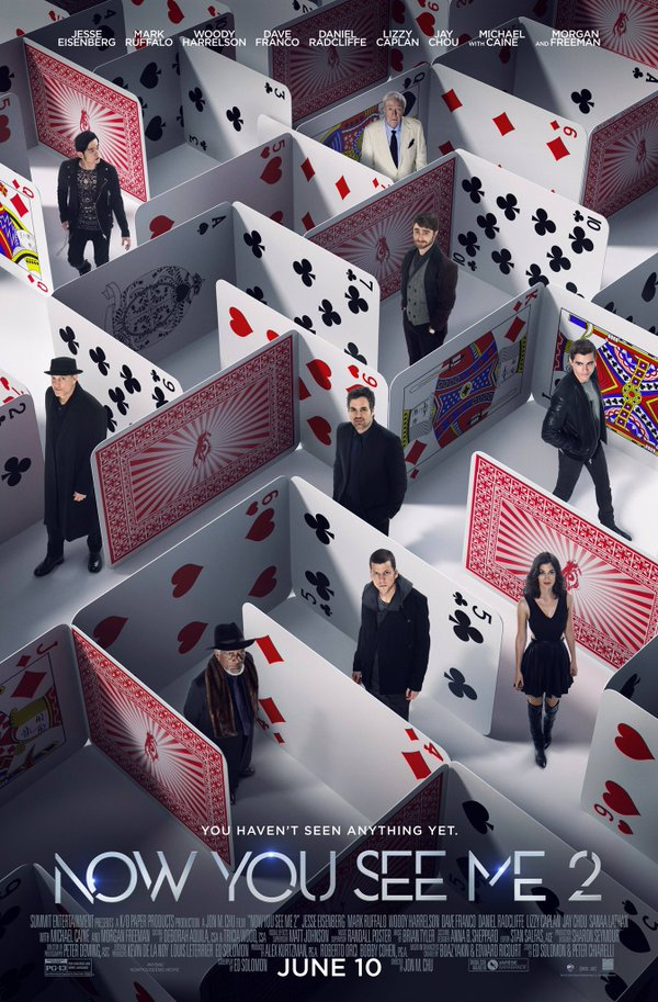 Truque-de-mestre_cartaz Crítica: Truque de Mestre - O Segundo Ato (Now You See Me 2)
