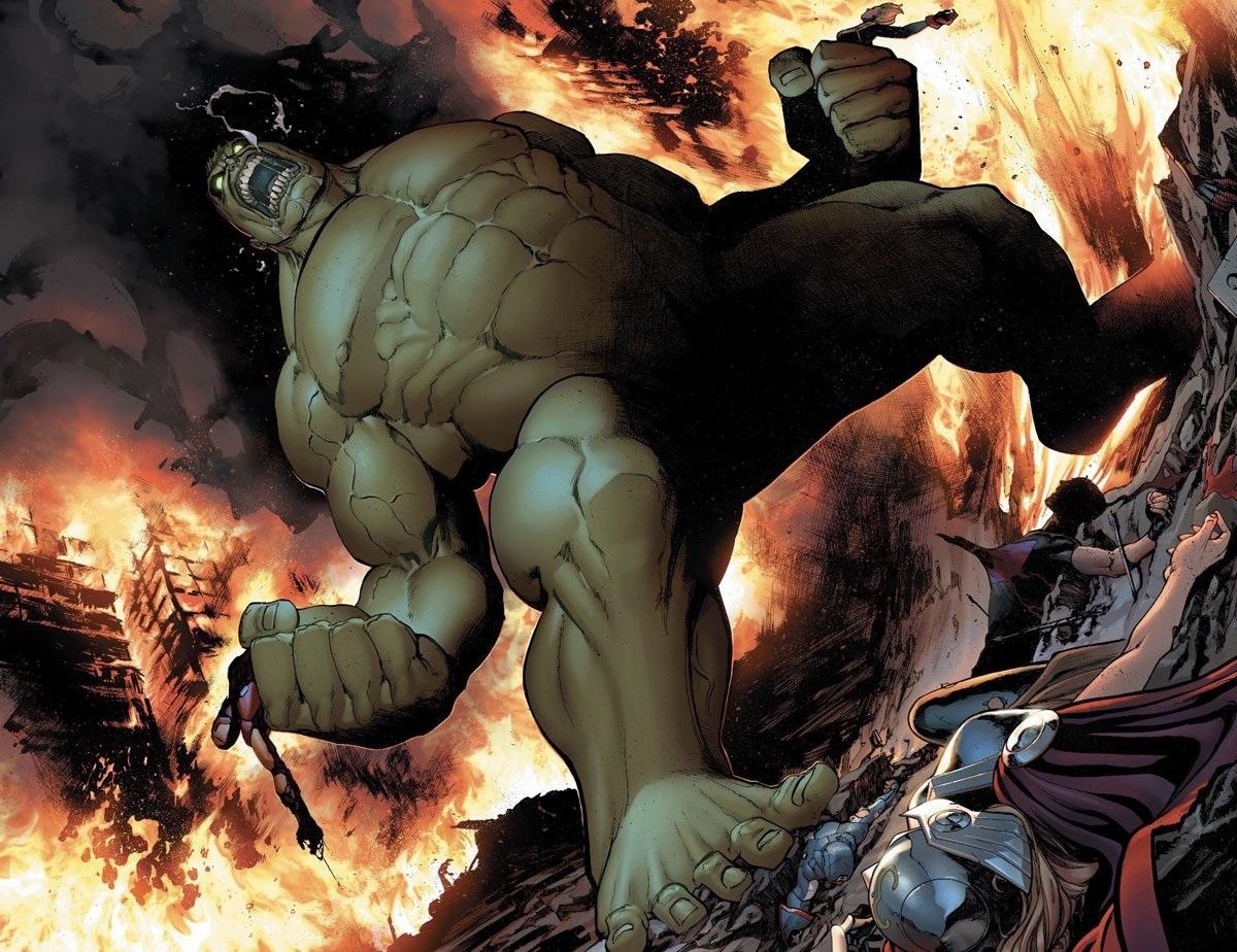 """biiiirrrlllll Guerra Civil II: Destino de Hulk """"esmaga"""" o coração dos fãs"""