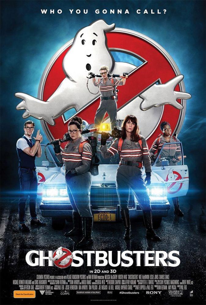 cacas_fantasmas_cartaz Crítica: Caça-Fantasmas (Ghostbusters)