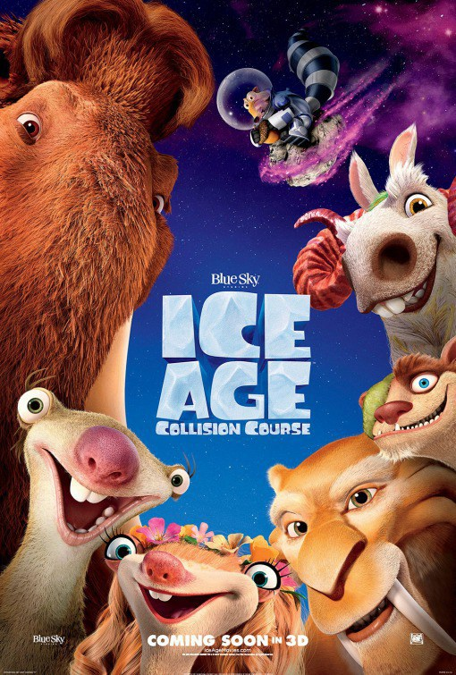 era-do-gelo_Cartaz Crítica: A Era do Gelo - O Big Bang (Ice Age - Collision Course)