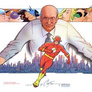 juliusschwartz-by-infantino-300x300 Os Heróis dos Super-Heróis: A Era de Prata dos Quadrinhos