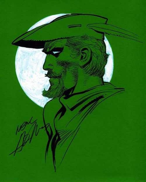 green-arrow-neal-adams Contracultura nos Quadrinhos
