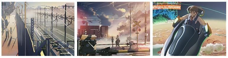 """makoto_shinkai_c De """"Tooi Sekai"""" a """"Kimi no Na wa"""": o mundo de Makoto Shinkai - Parte 2"""