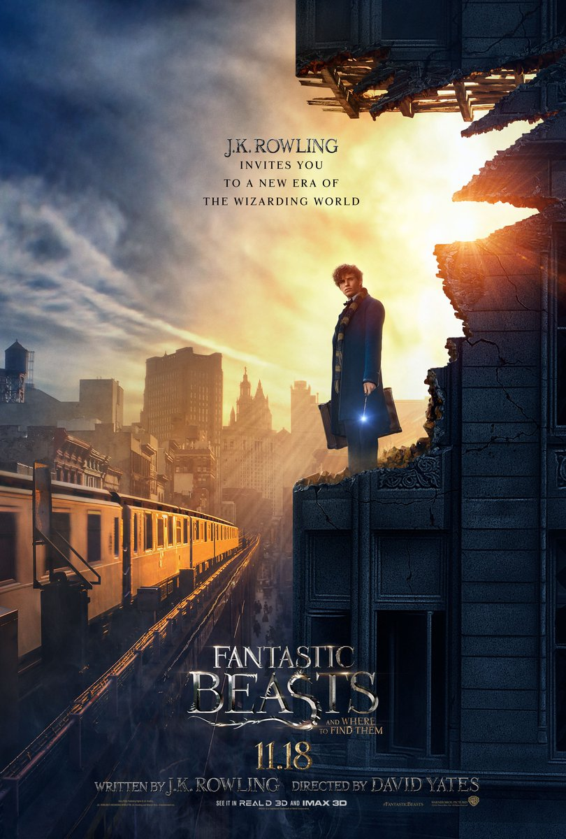 Animais_cartaz Crítica: Animais Fantásticos e Onde Habitam (Fantastic Beasts and Where to Find Them)