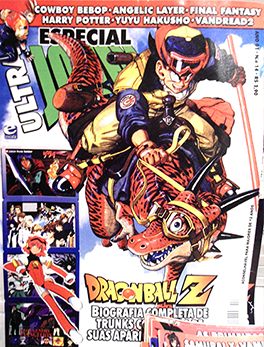ultrajovem_capa Revista Ultra Jovem: nostalgia e muito Dragon Ball