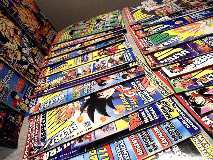 ultrajovem_revistas Revista Ultra Jovem: nostalgia e muito Dragon Ball