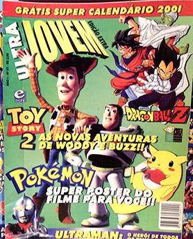 ultrajovemprimeiraed Revista Ultra Jovem: nostalgia e muito Dragon Ball