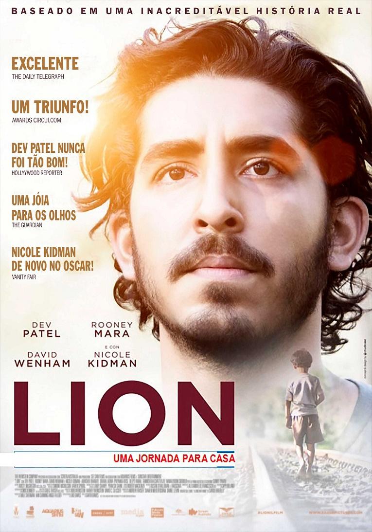 Lion-cartaz Crítica: Lion - Uma Jornada Para Casa