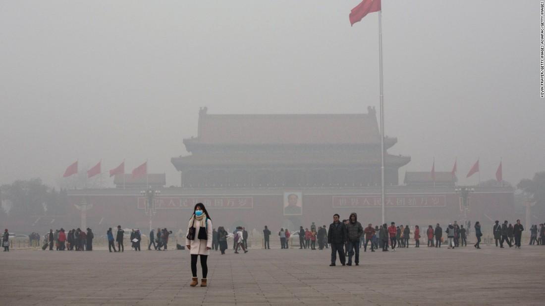Pequim_smog A arte de Yuumei e o ambientalismo