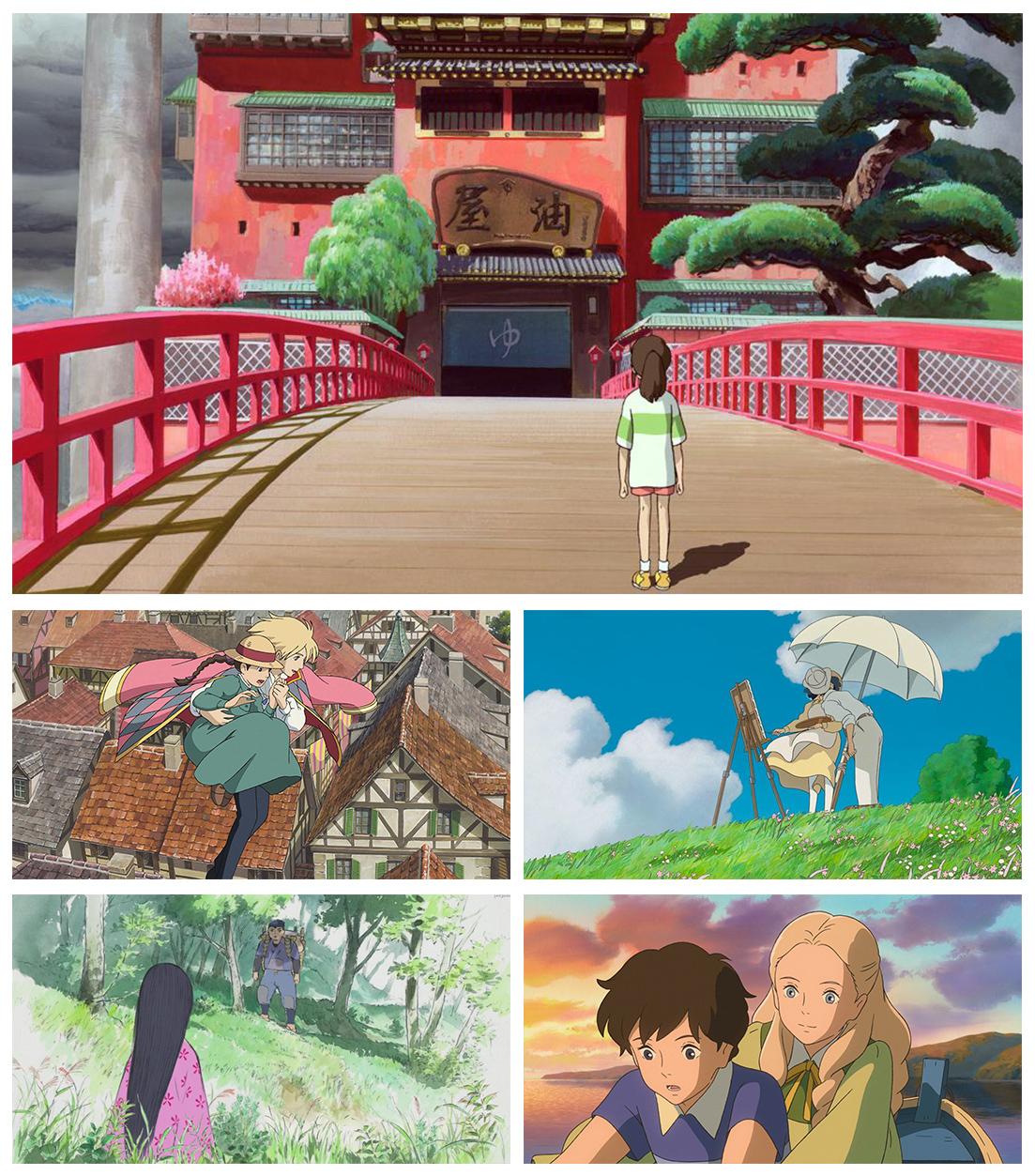 ghibli_filmes Relembrando os animes já indicados ao Oscar de Melhor Animação