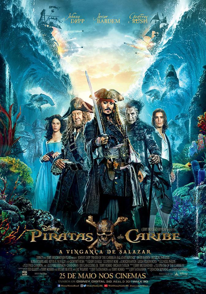 Piratas_Cartaz Crítica: Piratas do Caribe: A Vingança de Salazar