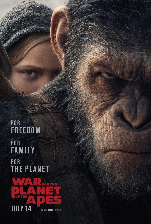 Planeta-dos-Macacos-cartaz Crítica: Planeta dos Macacos - A Guerra