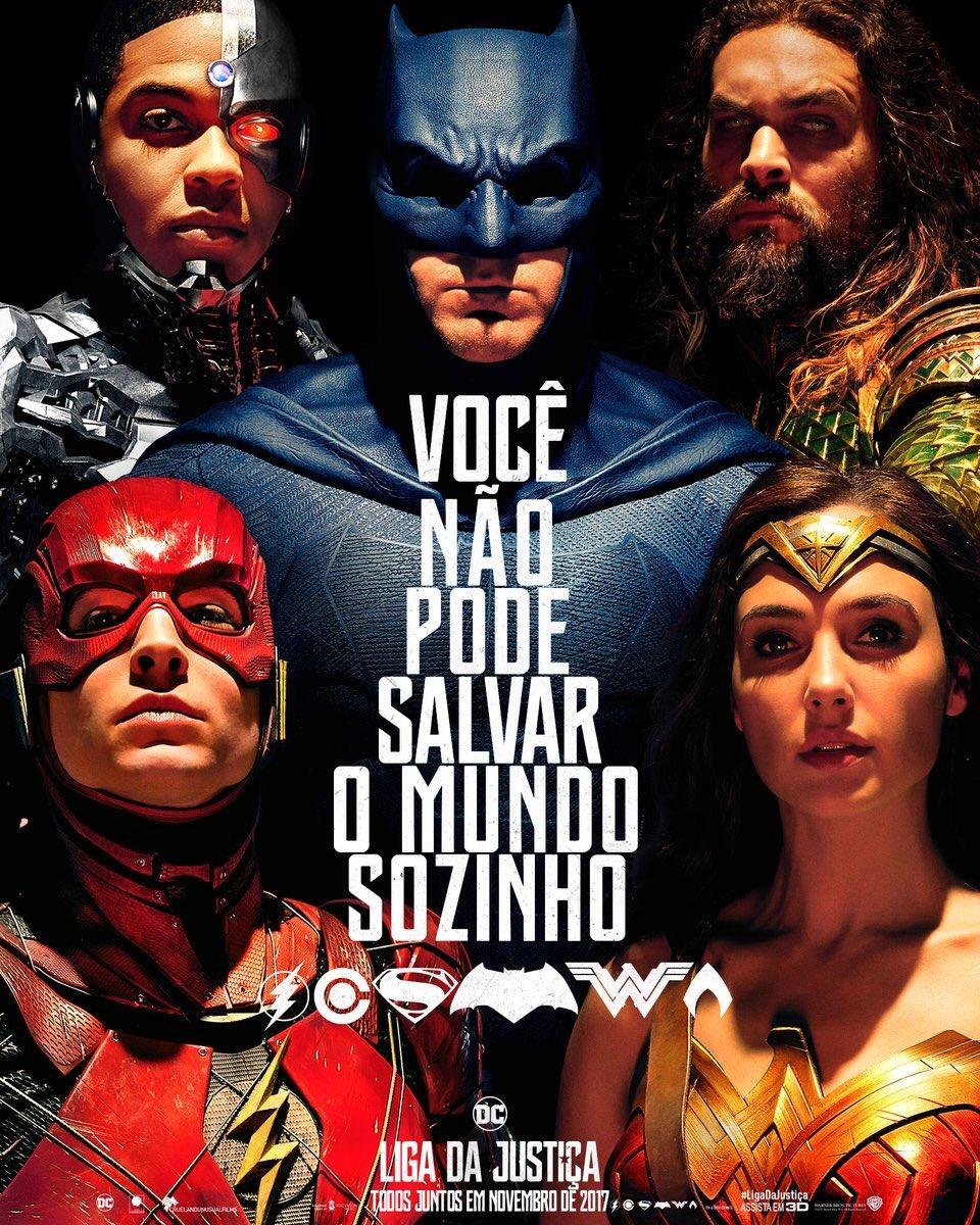 Liga-cartaz Crítica: Liga da Justiça
