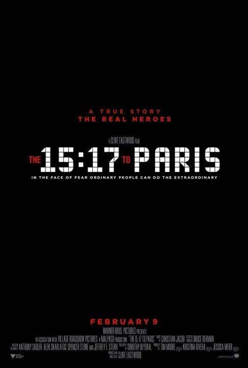 trem_poster-1 Crítica: 15H17 - Trem para Paris (The 15:17 to Paris)