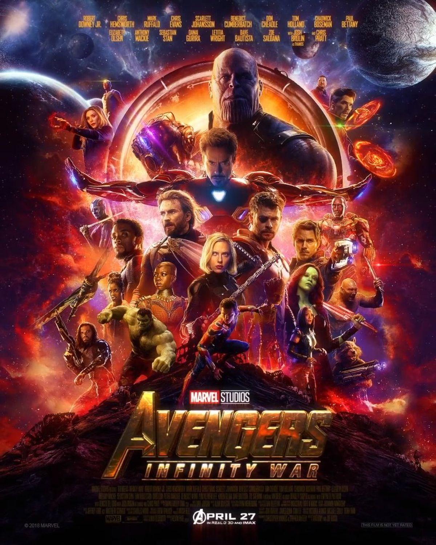 Vingadores_poster Crítica: Vingadores - Guerra Infinita (Avengers - Infinity War)
