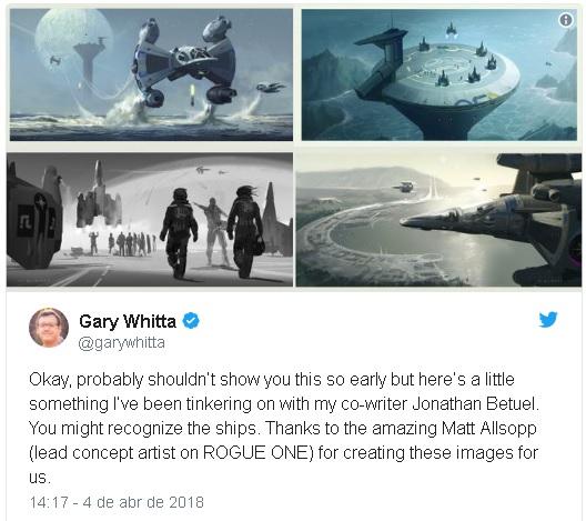 guerra Remake de Último Guerreiro das Estrelas pode ter roteirista de Rogue One
