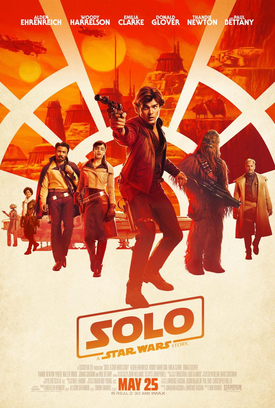Solo_poster Crítica: Han Solo - Uma História Star Wars