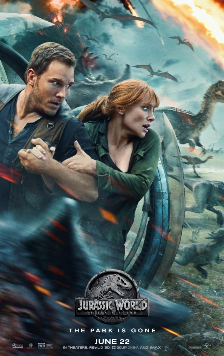 jurassic_poster Crítica: Jurassic World - Reino Ameaçado (Jurassic World: Fallen Kingdom)