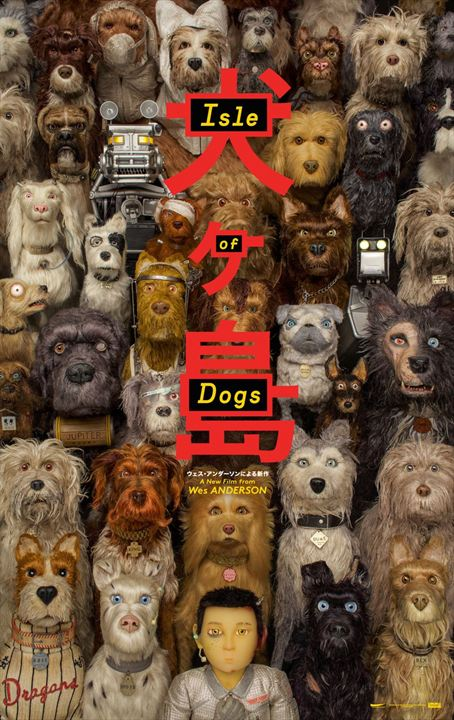 caes_poster Crítica: A Ilha dos Cachorros (Isle of Dogs)
