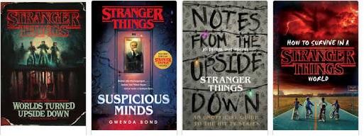 strangerbooks Stranger Things terá universo expandido em livros, HQs, jogos...