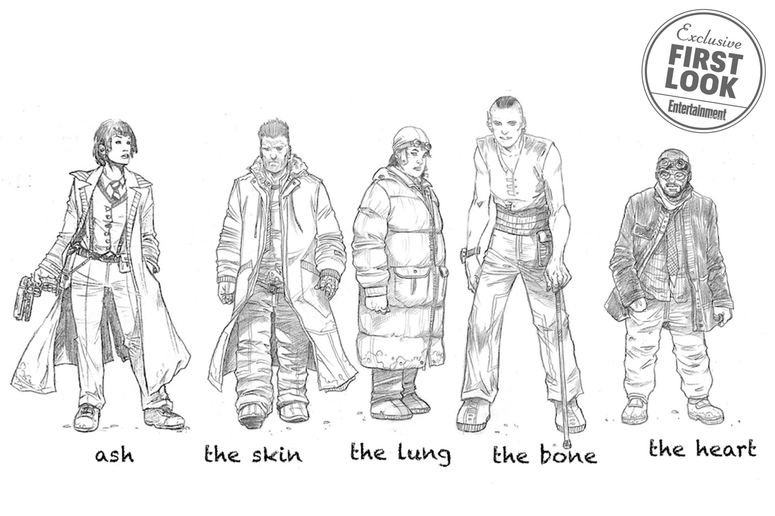 personagens Lançados quadrinhos de Blade Runner ambientados na época do filme clássico