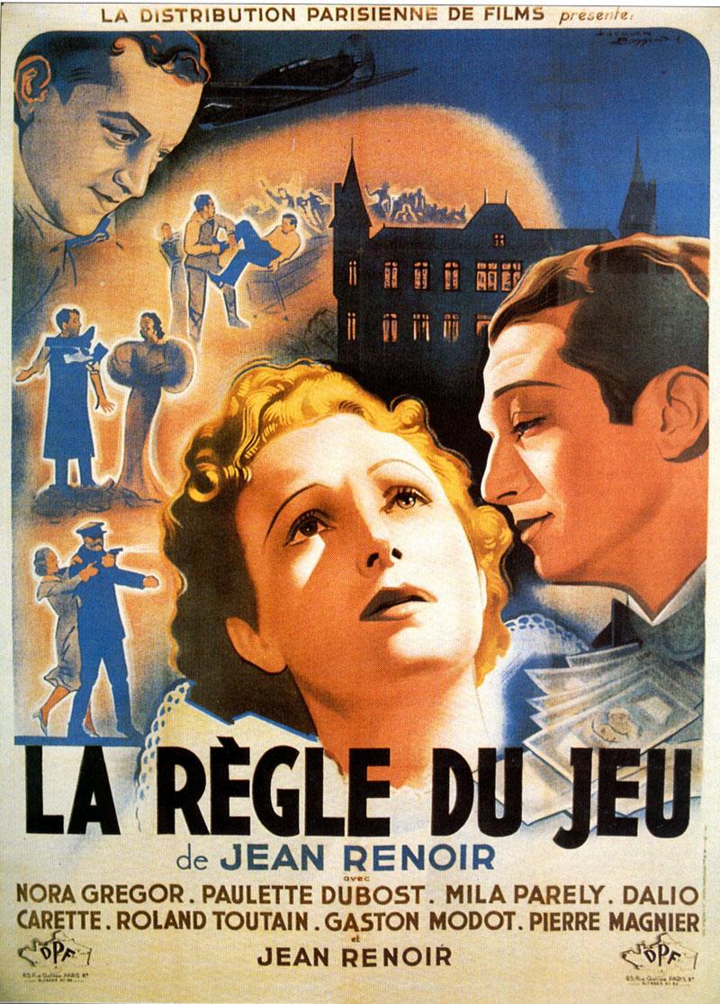 regledujeu_1 Crítica: A Regra do Jogo (La règle du jeu) - 1939