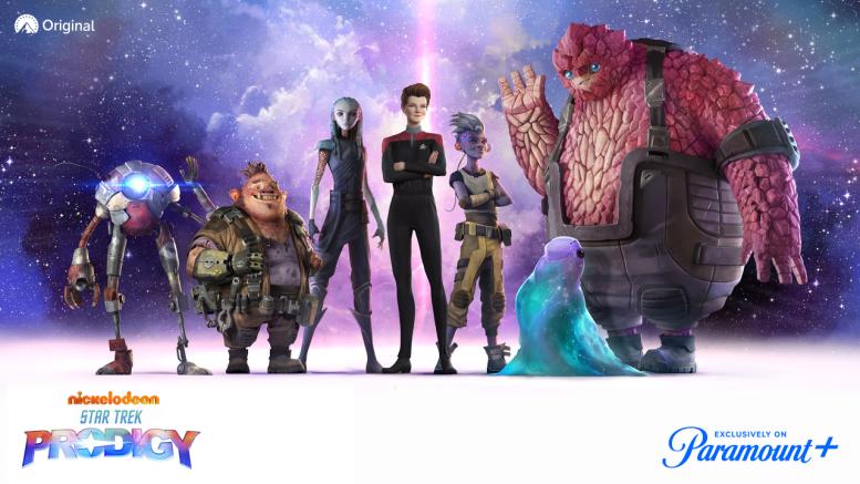 prodigy Trek Universe - Atualizações da Franquia Star Trek - 1º Semestre/21