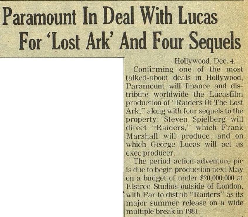 acordo Análise: 40 anos de Caçadores da Arca Perdida... a jornada do herói Indiana Jones - Parte 1