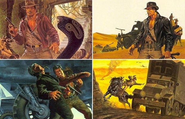 jim-steranko Análise: 40 anos de Caçadores da Arca Perdida... a jornada do herói Indiana Jones - Parte 1