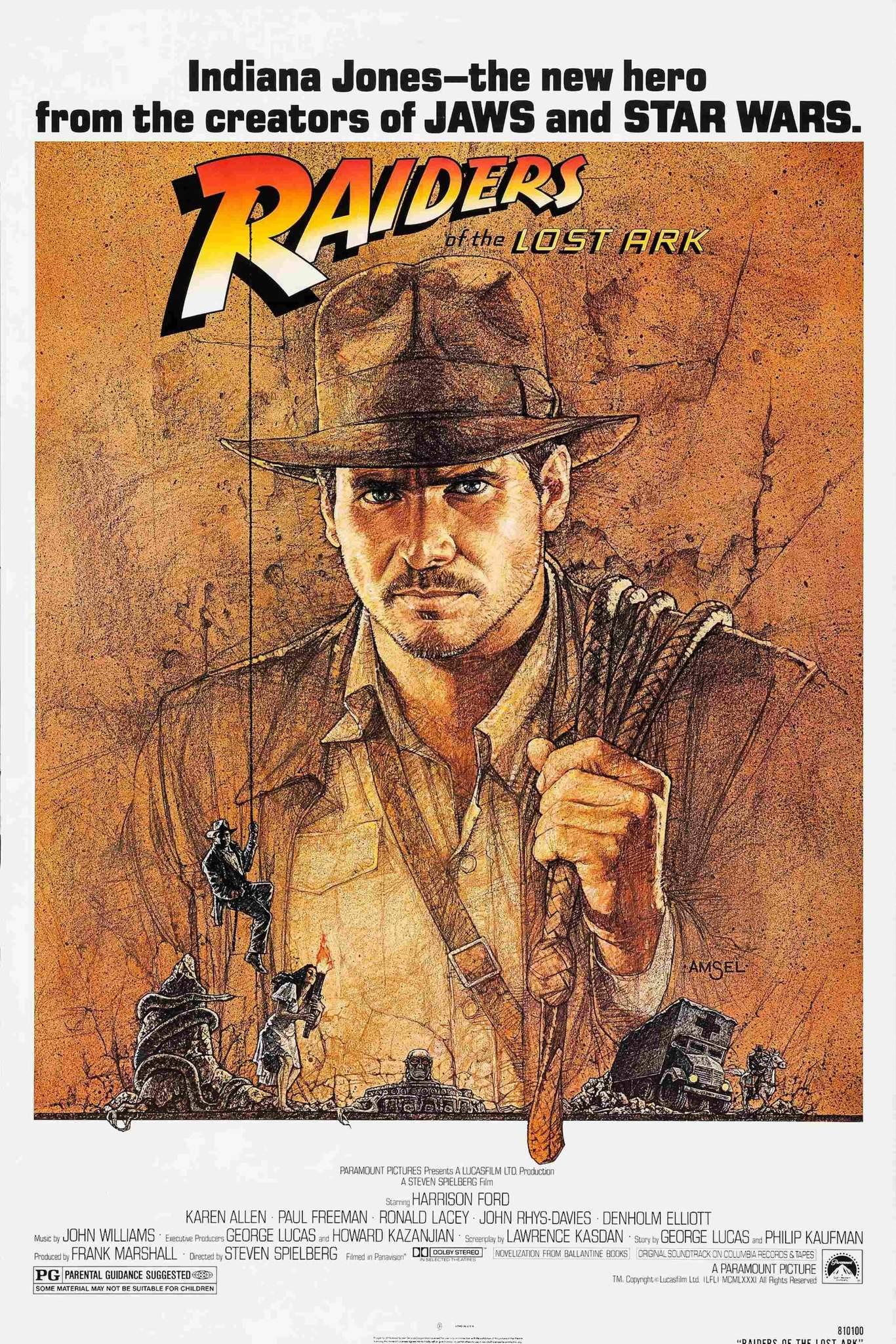 poster1 Análise: 40 anos de Caçadores da Arca Perdida... a jornada do herói Indiana Jones - Parte final