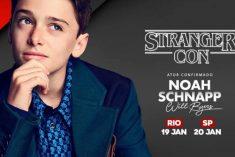 Convenção com ator de Stranger Things causa tumulto no Brasil