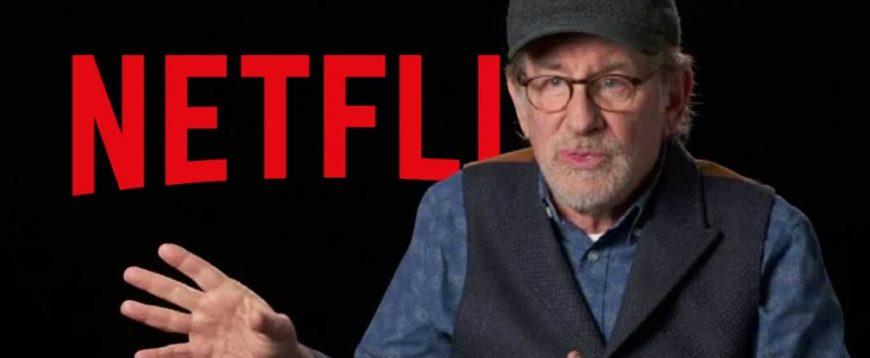 Netflix e Steven Spielberg se unem em grande parceria