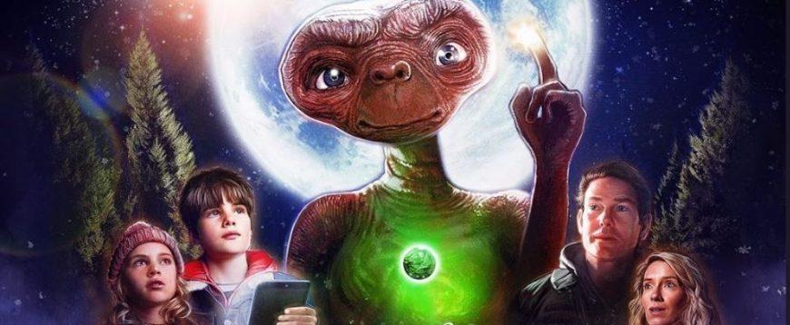 E.T. retorna em um comercial maravilhoso com ator original