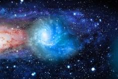 Belezas do céu noturno e escalas universais