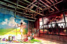 A arte de Yuumei e o ambientalismo