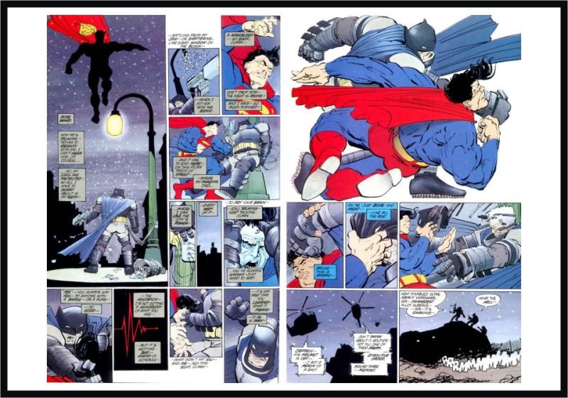 BatmanVsSuperman12-Luta2 Batman vs Superman Parte V – Analisando a famosa batalha usada como modelo