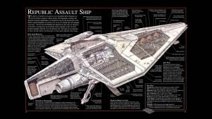 StarWarsShipDiagrama-300x169 Star Wars é ficção científica - Parte III - Desmistificando argumentos contrários
