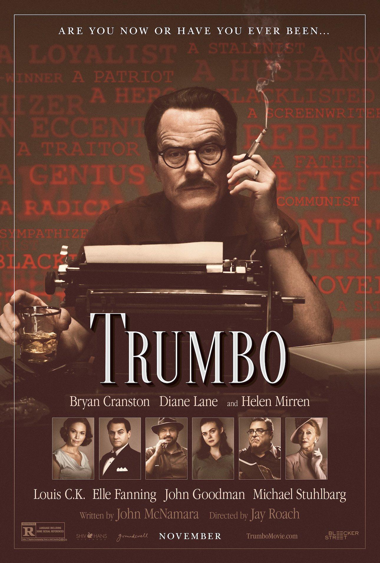trumbo-cartaz Crítica: Trumbo - Lista Negra