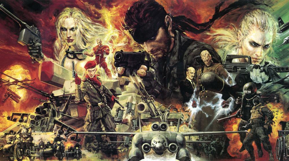 Metal Gear – Top 5 com os melhores jogos da série