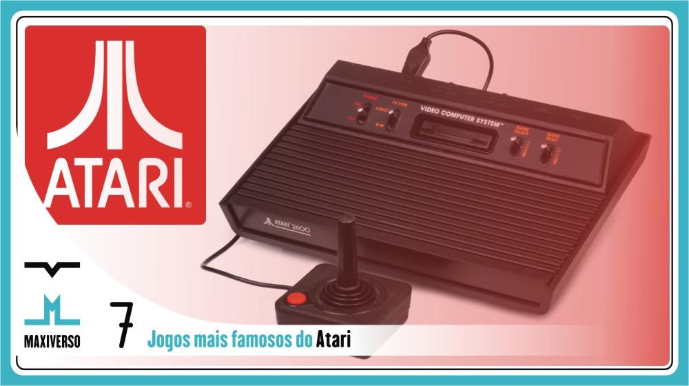 Top 7 jogos mais famosos do Atari