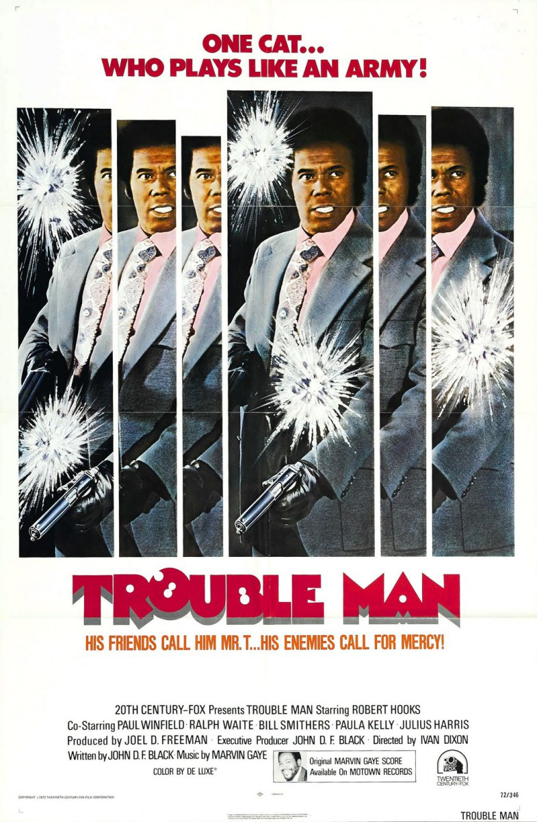 trouble-man-poster Grandes Trilhas do Cinema: Trouble Man de Marvin Gaye